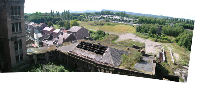 Foto vanuit Charbonnage