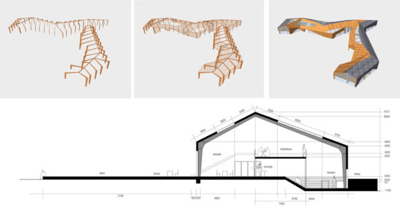 Opbouw constructie en doorsnede