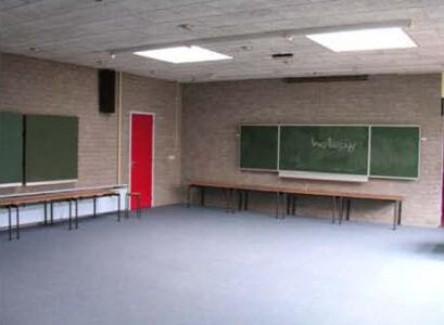 Foto bestaande situatie aula