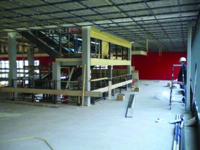 Proces bouw aula