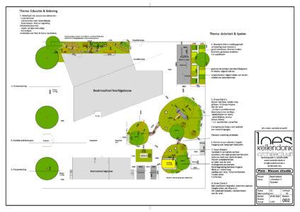 Voorstel groen plein Beatrixschool
