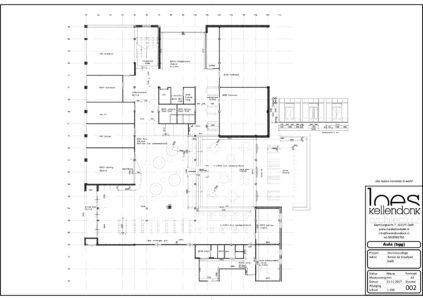 plattegrond aula nieuw