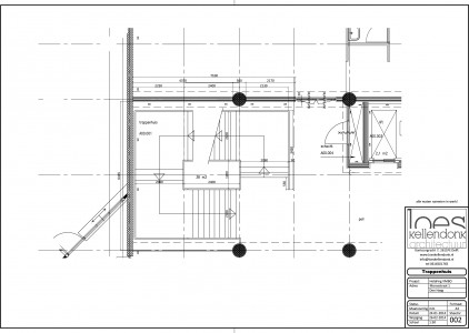 plattegrond trappenhuis