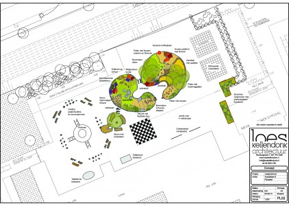 Plan groen plein