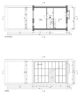 plattegrond 2e en dak