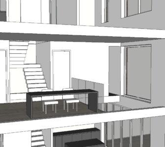 trappenhuis en vide
